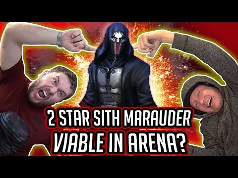 2 Star Sith Marauder Viable in Arena with Emperor Palpatine + Vader?   Star Wars: Galaxy of Heroes