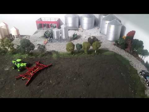 Dogtown Ag farm toy display. Early planning.