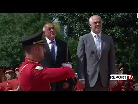 Report TV - Kryeministri i Bullgarisë Boyko Borissov viziton Shqipërinë