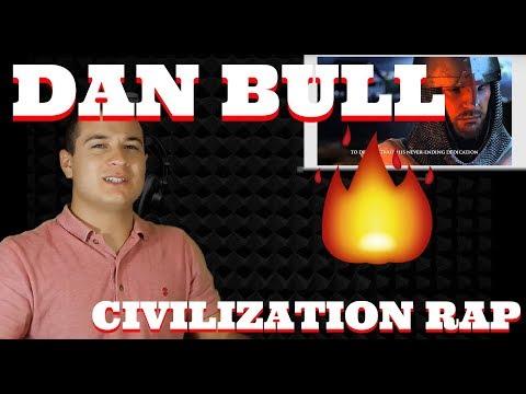 """""""CIVILIZATION EPIC RAP   Dan Bull"""" Reaction 💯"""