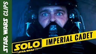 Han Solo Imperial Cadet (Deleted Scene from Solo: A Star Wars Story) | Star Wars Clips