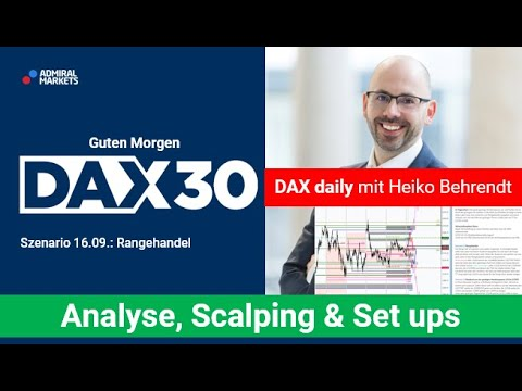 DAX aktuell: Analyse, Trading-Ideen & Scalping | DAX30 | CFD Trading | DAX Analyse | 16.09.2020