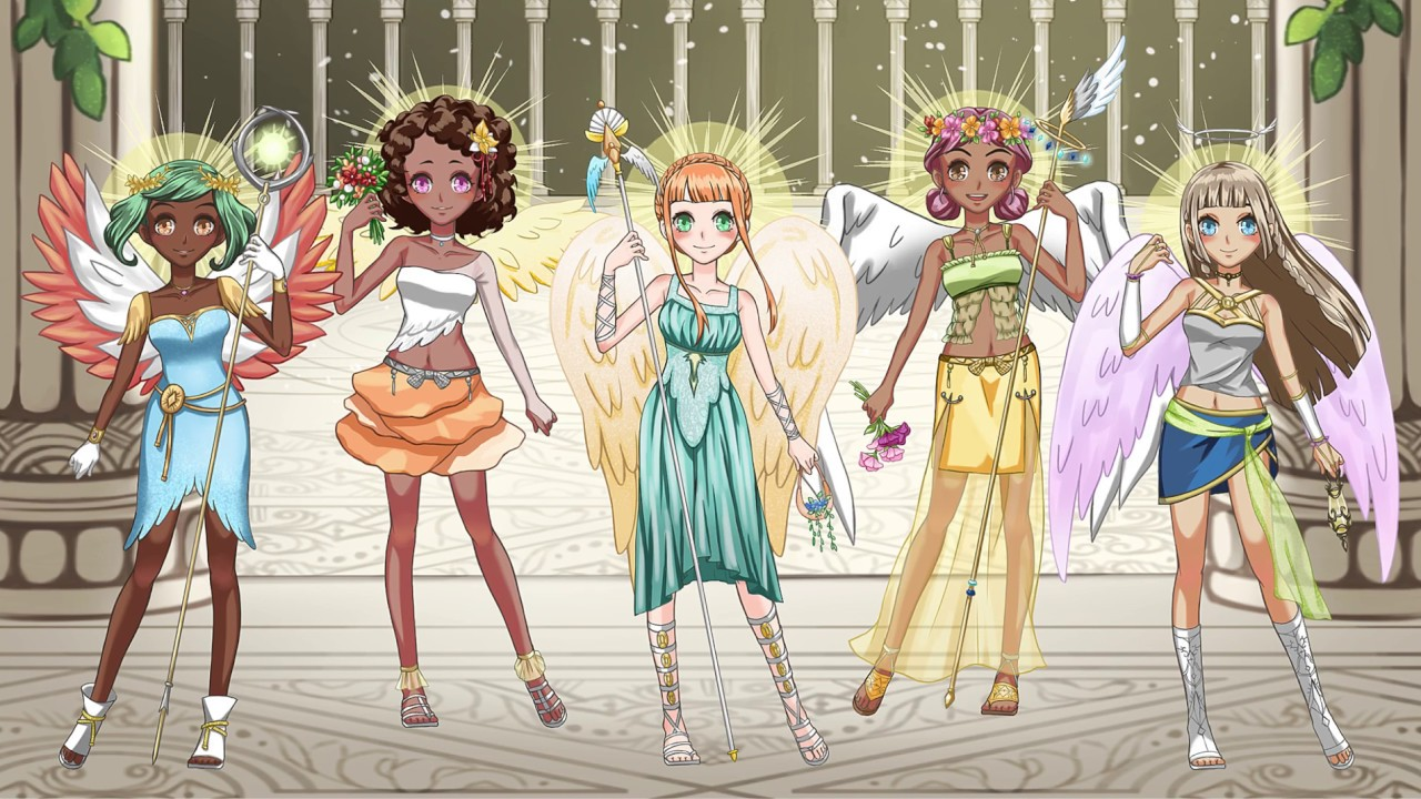 Anime Angel Dress Up for Girls - Games For Girls And Kids ...
