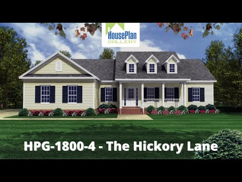HPG 1800 4   Beautiful Traditional House Plan by House Plan Gallery