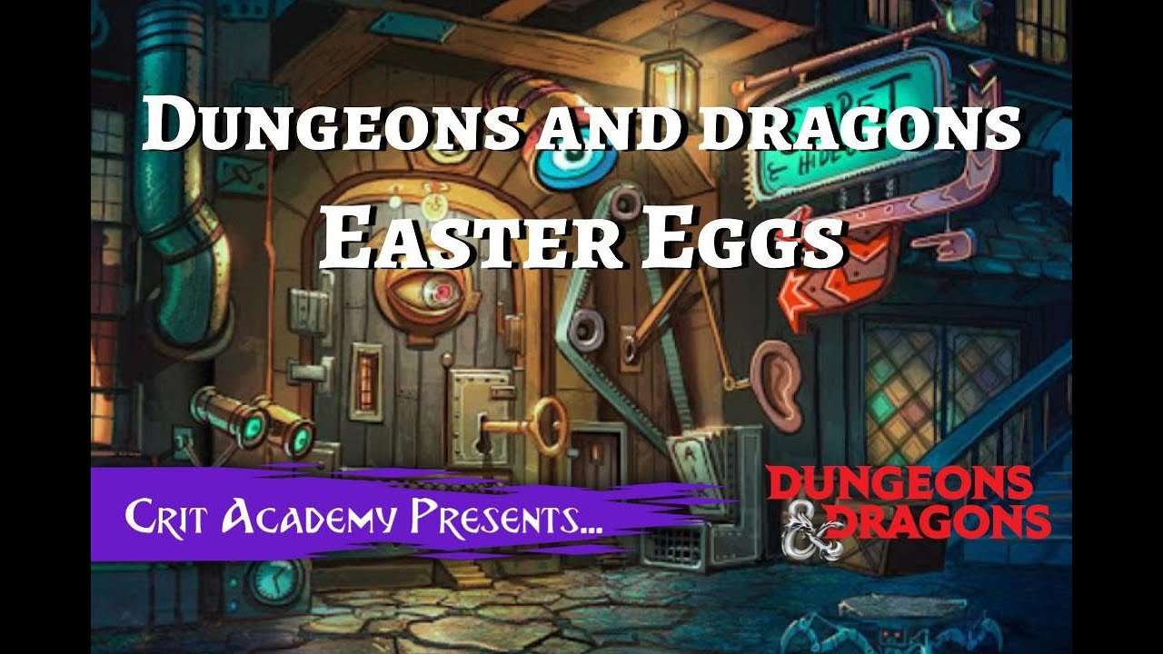 D&D Wizards Spell Component Easter Eggs