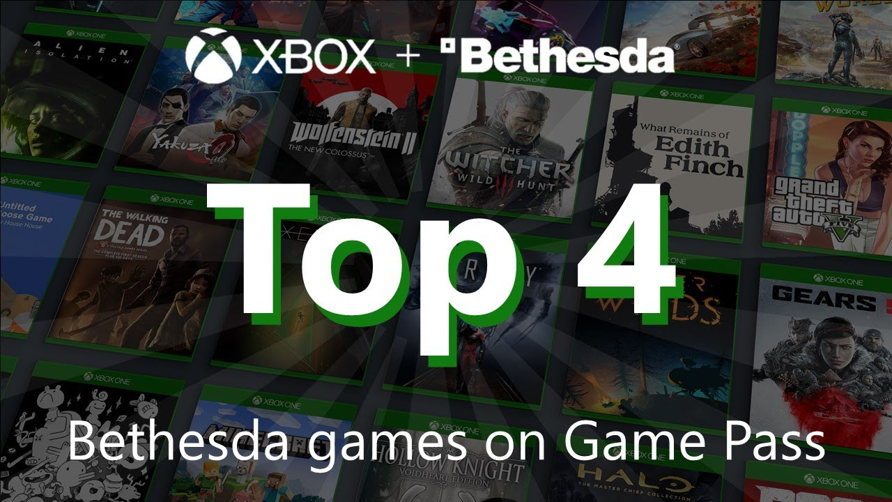 Download Top 4 Bethesda Games on Game Pass