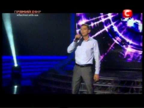 Х-фактор 8-й прямой эфир  Виктор Романченко