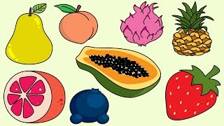Fruit Song 4 | Sing and Learn Fruit Names For Children