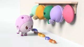 Малышарики - новые серии -  На помощь! Я сам (150 серия) Развивающие мультики для самых маленьких