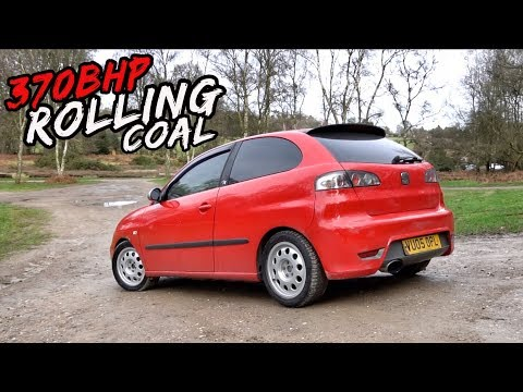 THIS BRUTAL *370BHP SEAT IBIZA 1.9TDI* IS RIDICULOUSLY AGGRESSIVE