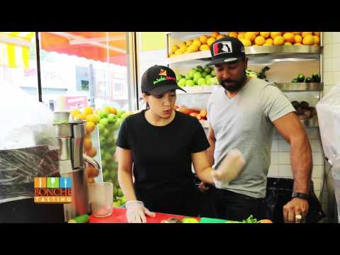 Bonche Tasting  Wata Berry Juice Bars & Smoothies  (S1 E10)