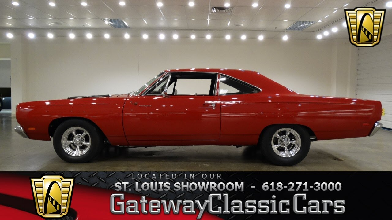 6879 1969 plymouth road runner hemi gateway classic cars of st louis youtube. Black Bedroom Furniture Sets. Home Design Ideas