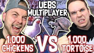 MULTIPLAYER IN ULTIMATE EPIC BATTLE SIMULATOR?!! #2