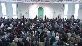 Проповедь Хазрата Мирзы Масрура Ахмада (30 -10- 2015)