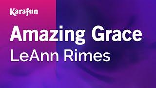 Karaoke Amazing Grace - LeAnn Rimes *