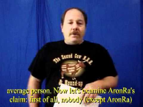 Ian Juby responds to AronRa's 8th Foundational falsehood of creationism Wazooloo by wazooloo