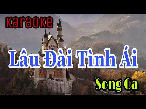 Karaoke Lâu Đài Tình Ái | Song Ca | Beat Chuẩn