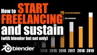 How to start as a freelancer with Blender