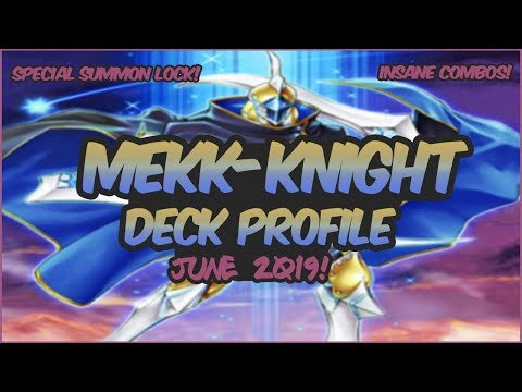 Yu-Gi-Oh! *COMPETITIVE* In-Depth Pure Mekk-Knight Deck Profile |Special Summons Lock?!| [June 2019]