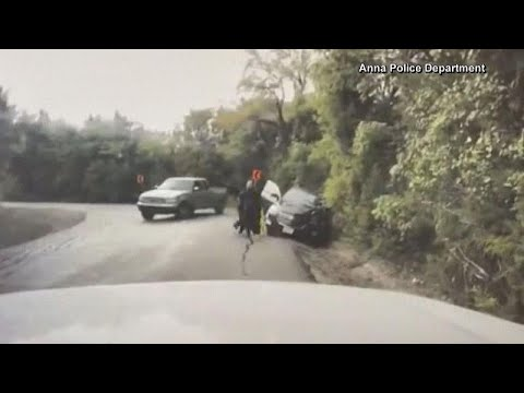 Polícia salva mulher no último instante