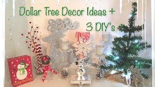 Dollar Tree Christmas Decor Ideas   3 Easy DIY's