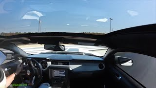 Shelby GT500 WILD SAVE after 180° Slide on Drag Strip