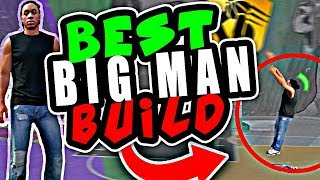 NBA 2K18 MYPARK BEST CENTER BUILD | BEST BIG MAN BUILD 2K18 GAMEPLAY