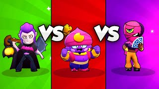 ????Bester MYTHISCHER Brawler? | GENE vs MORTIS vs TARA Battle! | Brawl Stars deutsch