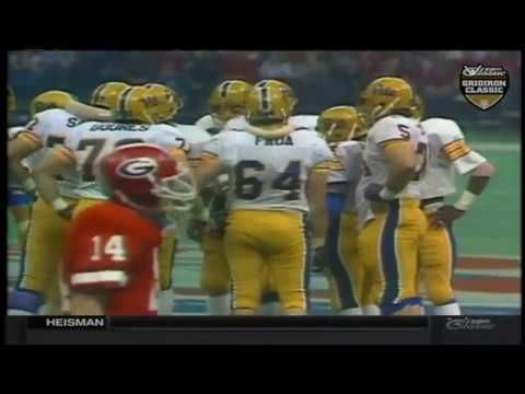 1981 Sugar Bowl - #10 Pittsburgh vs. #2 Georgia (HD) - YouTube