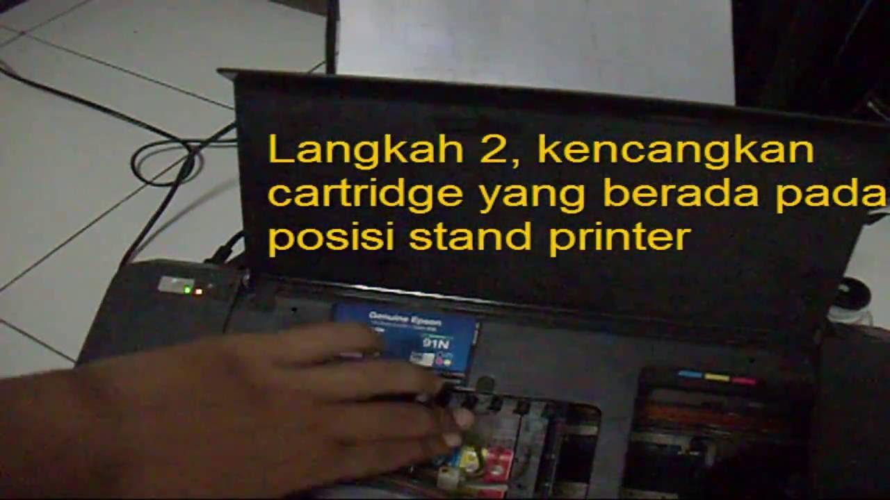 Cara Mengatasi Printer Blinking Atau Indikator Lampu Orange Menyala