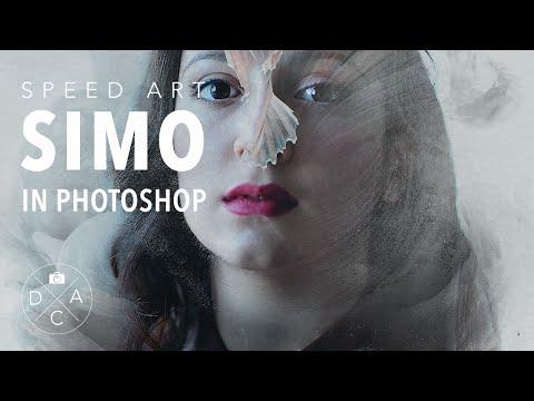 "Photoshop CC Photo Manipulation Speed Art ""Simo"""