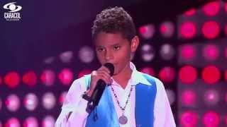 Kevin cantó 'Vivir la vida' de Marc Anthony - LVK Colombia- Audiciones a ciegas - T1