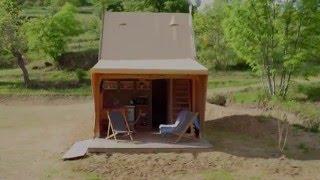 Les Lodges du camping Pierrageai de Saint-Félicien