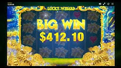 LUCKY WIZARD Huge BONUS Win Irish Theme Online Slot Machine Live Play Free Spins