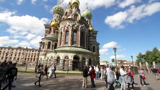 Church of the Savior on Blood, St. Petersburg,Russia