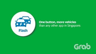 Flash - One button, more vehicles than any other app in Singapore.