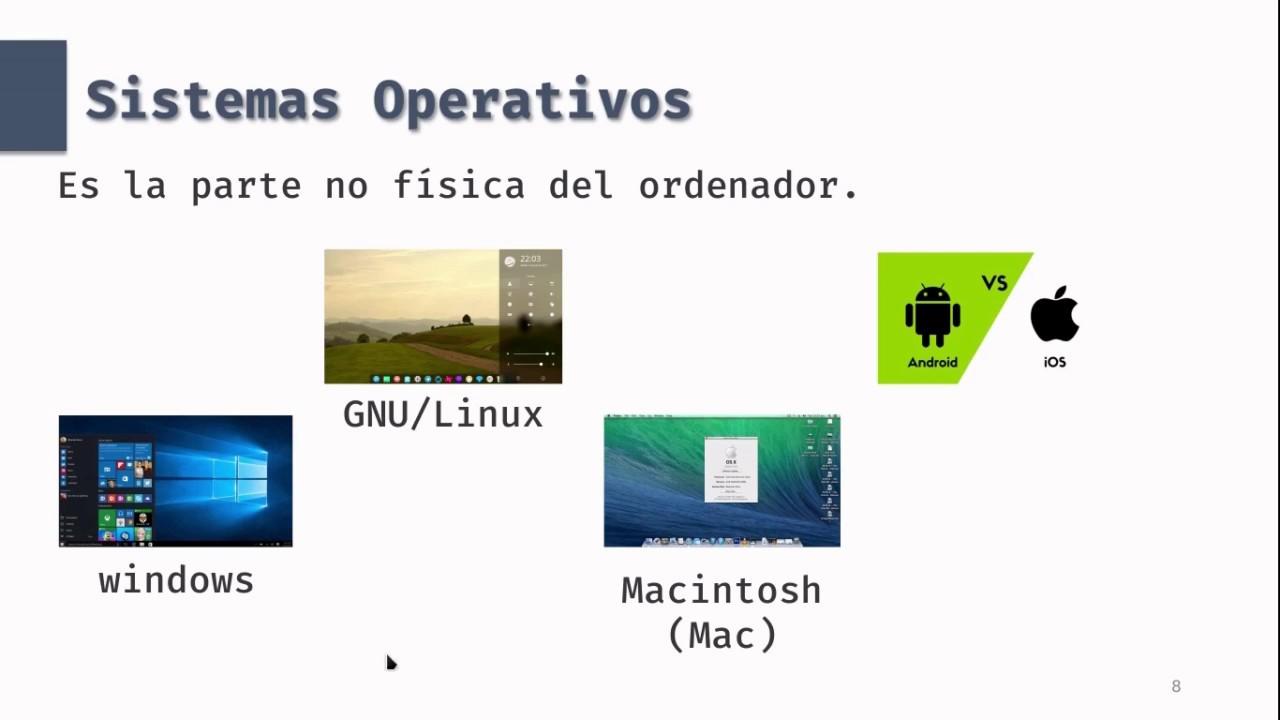 Estructura Interna De Las Computadoras Parte 2 Software