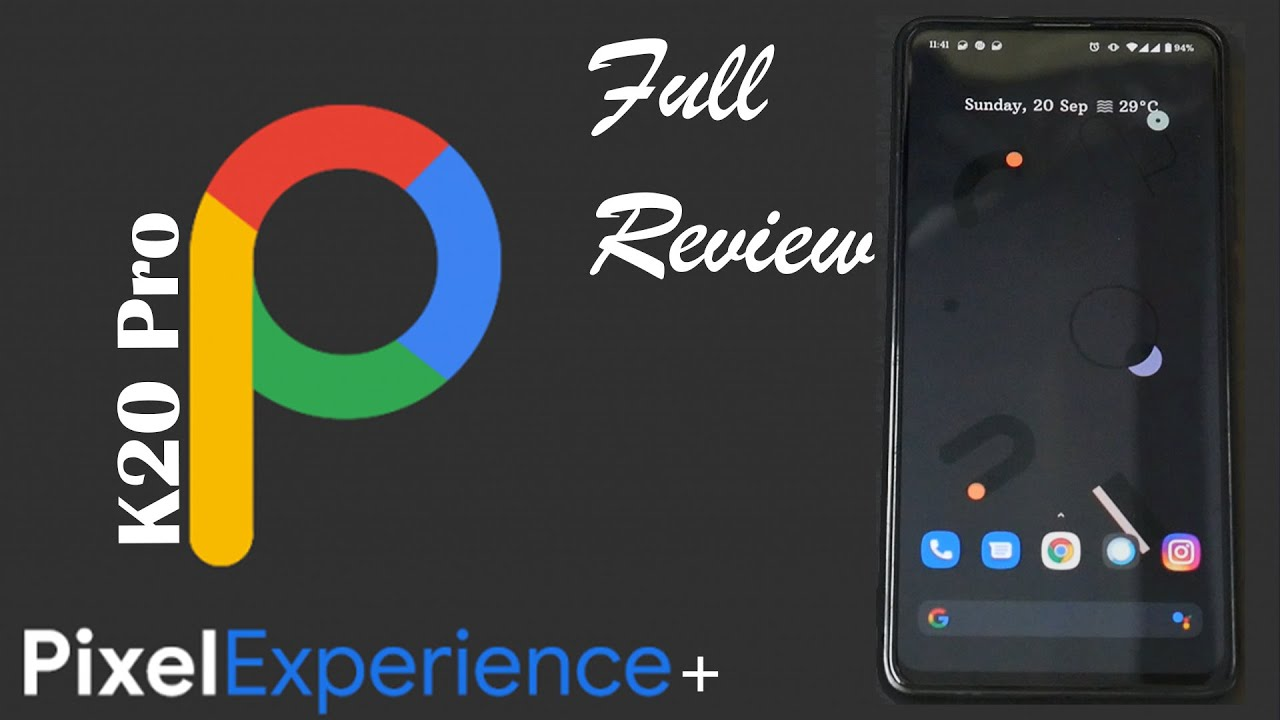 K20 Pro Pixel Experience + Sep 2020 Update   Complete Review   Smooth & Lagfree Gaming   Mi 9t Pro