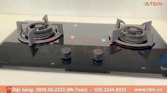 TDM.VN | Review bếp ga đôi Teka LUX 73 1 2G 112580008 mặt kính lắp âm hàng Châu Âu
