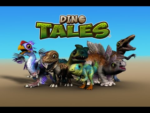 Dino Tales Game - Available on the Appstore, Google Play and Amazon App Store!
