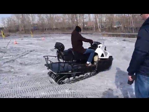Снегоход STELS Ермак тестдрайв в Новосибирске видео от Мото тех, мотосалон в Томск