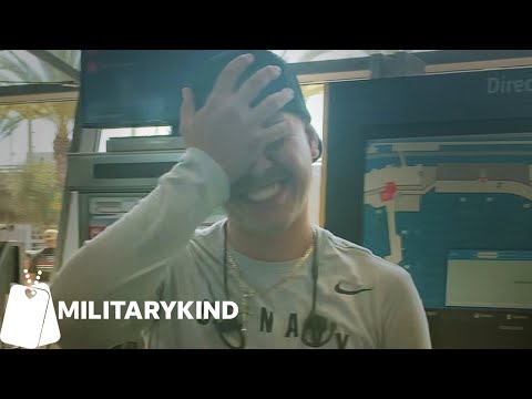 Mom's whistle stops Sailor in his tracks   Militarykind