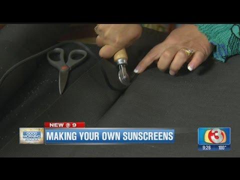 Home Depot Debbie - Make your own sun screens