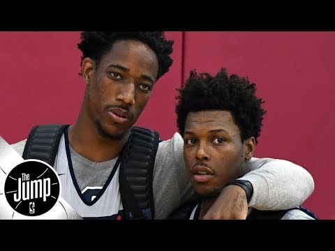 Will Kyle Lowry fit with Kawhi Leonard, or miss DeMar DeRozan too much?  The Jump  ESPN