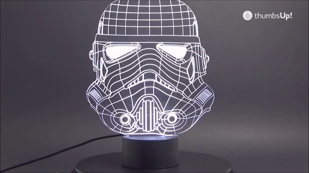 lampe acrylique stormtrooper star wars sur wwwrapid cadeaucom