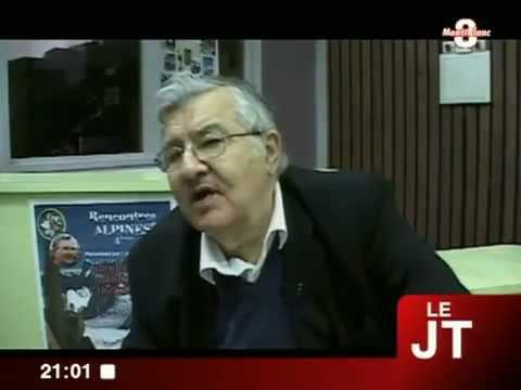 Haria : interview de Jean-Marie Pelt aux Rencontres Alpines Annecy TV8 Mont-Blanc