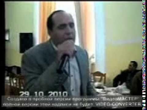 Manaf Ağayev Canlı ifa bizimdə yurdumuz yuvamiz olubdu (2019)