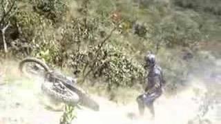 Trilhas de moto em Palmelo