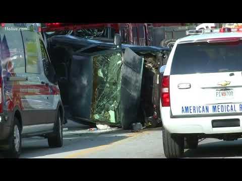 Deadly crash on Glenwood Avenue
