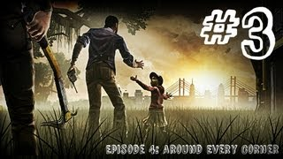 The Walking Dead - Episode 4 - Gameplay Walkthrough - Part 3 - SCARECROW ZOMBIES (Xbox 360/PS3/PC)